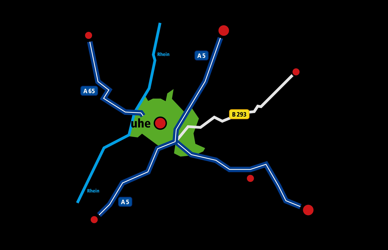 Standortkarte Karlsruhe