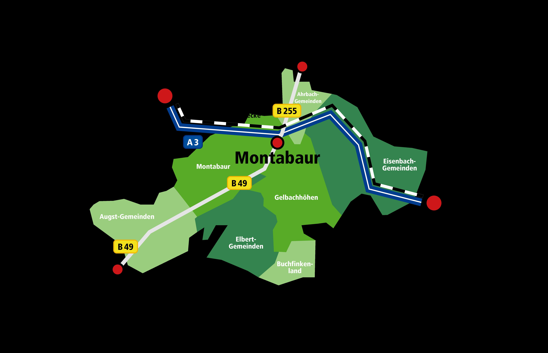 Standortkarte Montabaur